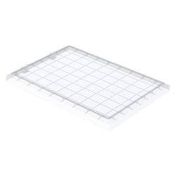Akro-Mils / Myers Industries - 35201SCLAR - Clear Lid, 19-3/4 L x 13-3/4