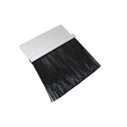 American Garage Door - BPS153-10 - Brushseal, 1-1/2in Strip Holder/3in Brush
