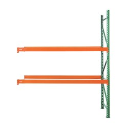Husky Rack and Wire - 183612043120A - 123W x 36 D x 120H Steel Pallet Rack Add-On Unit, 19, 380 lb. with Beams Evenly Spaced at 36