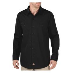 Dickies - LL516BK - Long Sleeve Work Shirt, Black, S