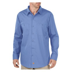 Dickies - LL516LW - Long Sleeve Work Shirt, Light Blue, S