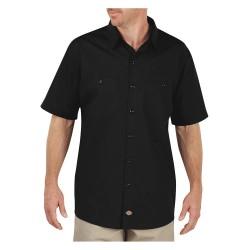 Dickies - LS516BK - Short Sleeve Work Shirt, Black, S