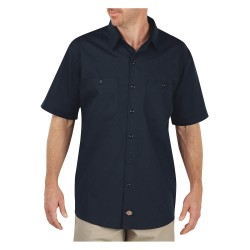 Dickies - LS516DN - Short Sleeve Work Shirt, Dark Navy, S