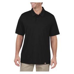 Dickies - LS425BK - Short Sleeve Polo, Black, S