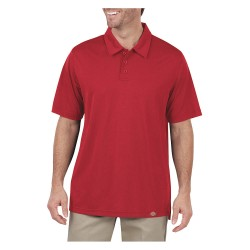 Dickies - LS425ER - Short Sleeve Polo, English Red, S