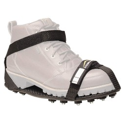 32North - MAXX-100B-05 - Men's Brass, Rubber Ice Cleats, Black, Size 15 to 16