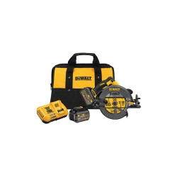 Dewalt - DCS575T2 - 7-1/4 FLEXVOLT Cordless Circular Saw Kit, 60.0 Voltage, 5800 No Load RPM, Battery Included