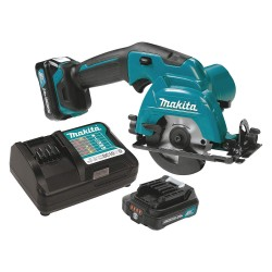 Makita - SH02R1 - 3-3/8 Cordless Circular Saw Kit, 12.0 Voltage, 1500 No Load RPM, Battery Included