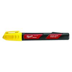 Milwaukee Electric Tool - 48-22-3721 - Milwaukee 48-22-3721 INKZALL Yellow Acrylic Nib Paint Liquid Marker - 12pk