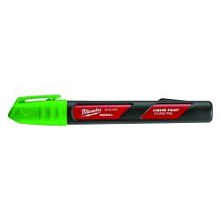 Milwaukee Electric Tool - 48-22-3751 - Milwaukee 48-22-3751 INKZALL Green Acrylic Nib Paint Liquid Marker - 12pk