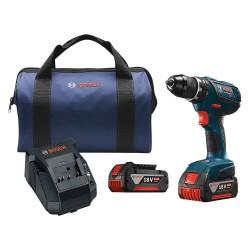 Bosch - DDS181A-01 - Bosch DDS181A-01 18-Volt 1/2-Inch Lithium-Ion Tough Cordless Drill/Driver Kit