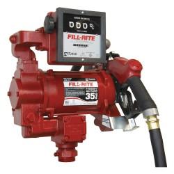 Fill-Rite - FR311VLB - 3/4 HP Cast Iron Rotary Vane Fuel Transfer Pump, 35 GPM, 115/230VAC