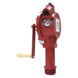 Fill-Rite - FR110 - Fill-Rite FR110 3/4-Inch 10-GPM NPT Discharge Vacuum Breaker Rotary Hand Pump