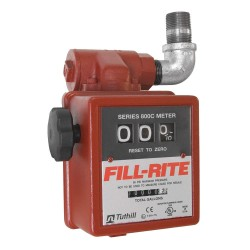 "Fill-Rite - 806C - 1"" Inlet Gravity Flow Meter 20gpm W/th18 Stra"
