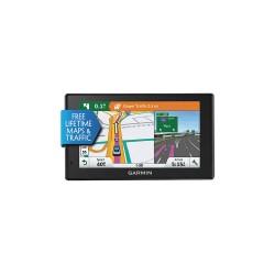 Garmin - DRIVE50SMARTLMTNA - 0.8 x 5.5 x 3.3 GPS Navigator, Black