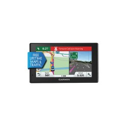 Garmin - DRIVEASSIST50LMTNA - 0.8 x 5.5 x 3.3 GPS Navigator, Black