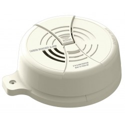 BRK Electronics - CO250LBT - 5 Carbon Monoxide Alarm with 85dB @ 10 ft. Audible Alert; 9V Lithium