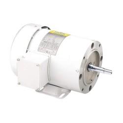 Leeson / Regal Beloit - 119458.00 - 1-1/2 HP Washdown Motor, 3-Phase, 3450 Nameplate RPM, 230/460 Voltage, Frame 56J