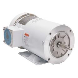 Leeson / Regal Beloit - 119463.00 - 3 HP Washdown Motor, 3-Phase, 3450 Nameplate RPM, 230/460 Voltage, Frame 56J