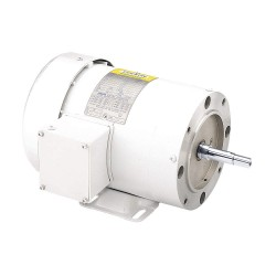 Leeson / Regal Beloit - 119460.00 - 2 HP Washdown Motor, 3-Phase, 3450 Nameplate RPM, 230/460 Voltage, Frame 56J