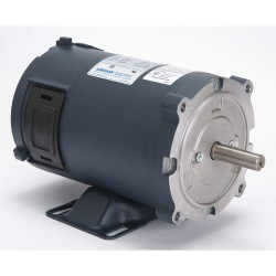 Leeson / Regal Beloit - 108047.00 - 1/2 HP DC Permanent Magnet Motor Permanent Magnet DC, 1800 Nameplate RPM 12VDC Voltage 56C Frame