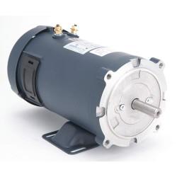 Leeson / Regal Beloit - 108048.00 - 3/4 HP DC Permanent Magnet Motor Permanent Magnet DC, 1800 Nameplate RPM 12VDC Voltage 56C Frame