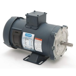 Leeson / Regal Beloit - 108052.00 - 3/4 HP DC Permanent Magnet Motor Permanent Magnet DC, 1800 Nameplate RPM 24VDC Voltage 56C Frame