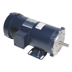 Leeson / Regal Beloit - 108023.00 - 1 HP DC Permanent Magnet Motor Permanent Magnet DC, 1750 Nameplate RPM 180VDC Voltage 56C Frame
