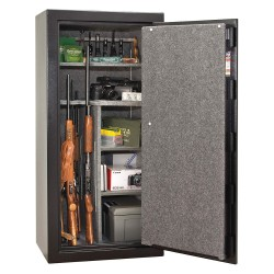 Liberty Safe - CN24-BKTF - 13.8 cu. ft. Gun Safe, 370 lb. Net Weight, 1/2 hr. Fire Rating, Combination/Key Lock Style