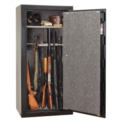 Liberty Safe - CN24-BKT - 13.8 cu. ft. Gun Safe, 370 lb. Net Weight, 1/2 hr. Fire Rating, Combination/Key Lock Style