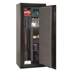 Liberty Safe - CN18-BKTF - 11.7 cu. ft. Gun Safe, 334 lb. Net Weight, 1/2 hr. Fire Rating, Combination/Key Lock Style