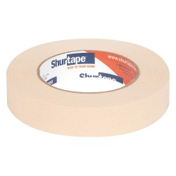 Shurtape - CP 905 - Masking Tape, 55m x 24mm, Natural, 6.40 mil, Package Quantity 36