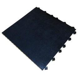 Ergo Advantage - A1-SMB - Antifatigue Mat, Vinyl, Black, 1 ft. 6 x 1 ft. 6, 10 PK