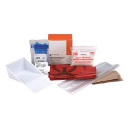 First Aid Only - 21760 - BBP Spill Cleanup Kit, 3.625 x 4.312 x 2.25
