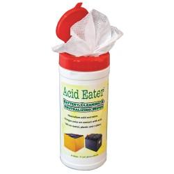 Acid Eater - 1002-003 - Battery Acid Wipes, Neutralizes Battery Acid, Wipes, 10 oz.