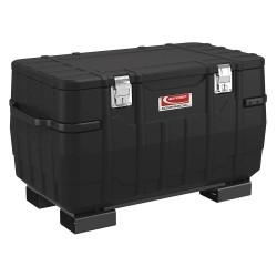 Suncast - BMJB4824FL - 27-1/2 x 25-3/4 x 48 Jobsite Box, 13.4 cu. ft., Black