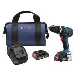 Bosch - HDS183-02 - Bosch HDS183-02 18 Volt 1/2 Inch 2.0Ah Brushless Tough Hammer Drill Driver Kit