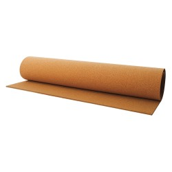Other - ROB14M-95MMX48'X8' - Roll Stock, Brown, 3/8 in. Thick