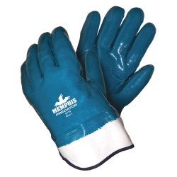 Memphis Glove - 9770 - Fully Coated Predator Nitrile Glove Foam Lined