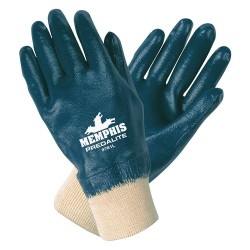 Memphis Glove - 9781XL - X-large Predalite Fullycoated Glove Thin Nitril