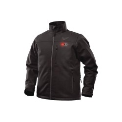 Milwaukee Electric Tool - 201B-21L - Milwaukee 201B-21L Black M12 Heavy Duty FreeFlex Warm Heated Jacket Kit - Large