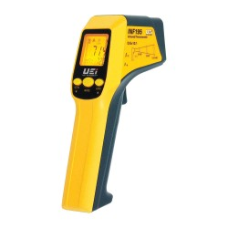 UEi Test Instruments - INF195C-N - Class II Laser Infrared Thermometer, -76 to 1022F, Calibration Certificate: NIST