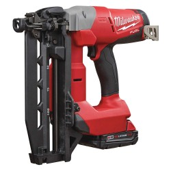 Milwaukee Electric Tool - 2741-21CT - Cordless Nailer Kit, Voltage 18.0 Li-Ion, Battery Included, Fastener Range 3/4 to 2-1/2