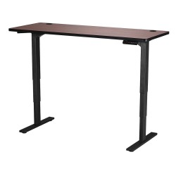 Safco - 1960CYBL - Adj. Table, 24 in.D, 60 in.W, Cherry Top