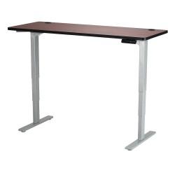Safco - 1960CYGR - Adj. Table, 24 in.D, 60 in.W, Cherry, Steel