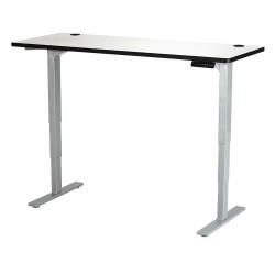 Safco - 1960GRGR - Adj. Table, 24 in.D, 60 in.W, Gry, Steel