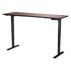 Safco - 1961CYBL - Adj. Table, 24 in.D, 72 in.W, Cherry, Steel