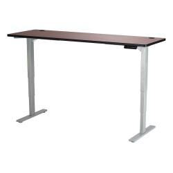 Safco - 1961CYGR - Adj. Table, 24 in.D, 72 in.W, Cherry Top