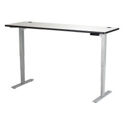Safco - 1961GRGR - Adj. Table, 24 in.D, 72 in.W, Gry, Steel