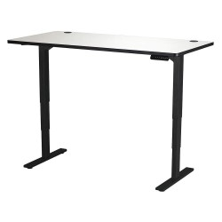 Safco - 1962GRBL - Adjustable Table, 30 in.D, 60 in.W, Gry